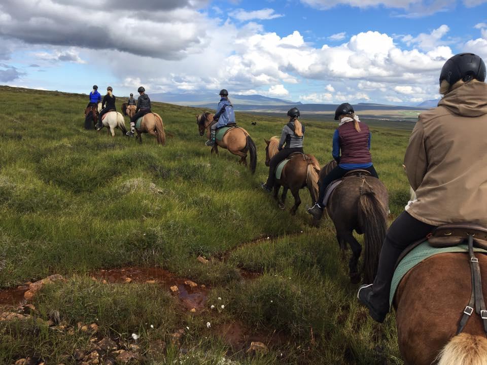 Auf dem Weg nach Huppahlíð