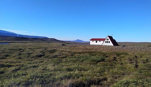 Hochlandhütte Álftakrók Arnarvatnsheiði